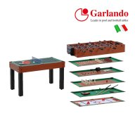 Garlando Multi Game Table 12 in 1 | Tip Top Sports Malta | Sports Malta | Fitness Malta | Training Malta | Weightlifting Malta | Wellbeing Malta