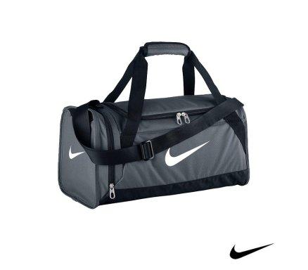 f4fa75e9c13 Nike Brasilia 6 Duffel Flint Grey Malta   Sports Gym Bags Malta   Sports  Malta