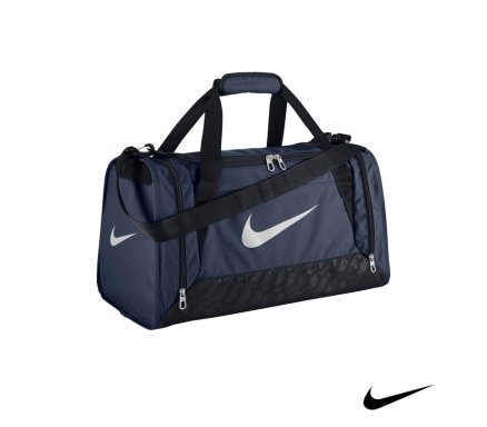 Nike Brasilia 6 Duffel Midnight Navy Malta  f7681a9b979b3