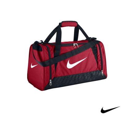 34eedc9aaf99 Nike Brasilia 6 Duffel Gym Red Malta
