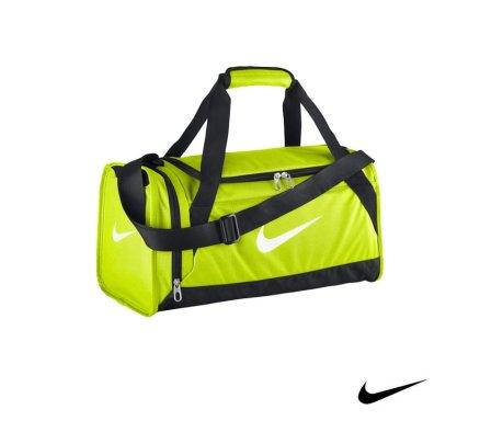 0e1fdadbd504 Nike Brasilia 6 Duffel Volt Yellow Malta
