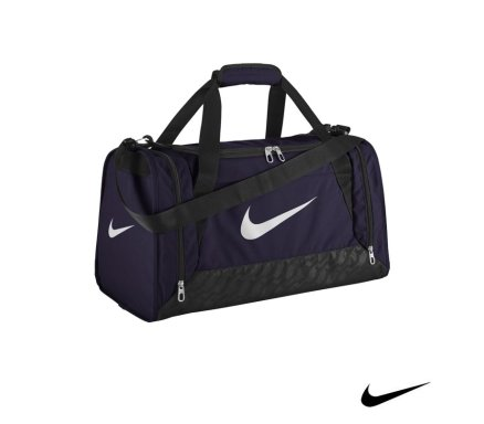 3f4be95285a Nike Brasilia 6 Duffel Purple Malta   Sports Gym Bags Malta   Sports Malta