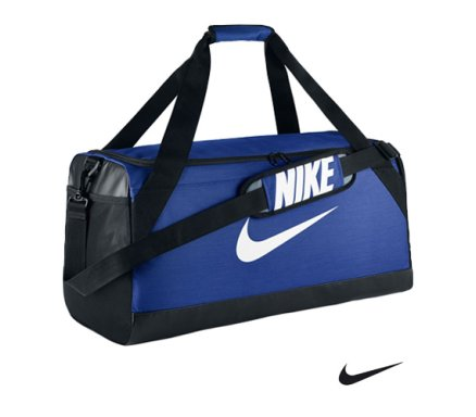 Nike Brasilia Medium Duffel Game Royal Malta  32ee5db9d00d0