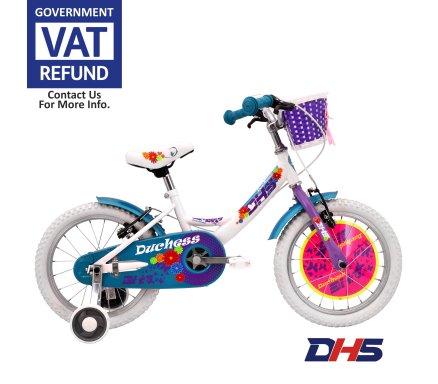 DHS Duchess 16'' White Malta | Bicycles Malta | Tip Top